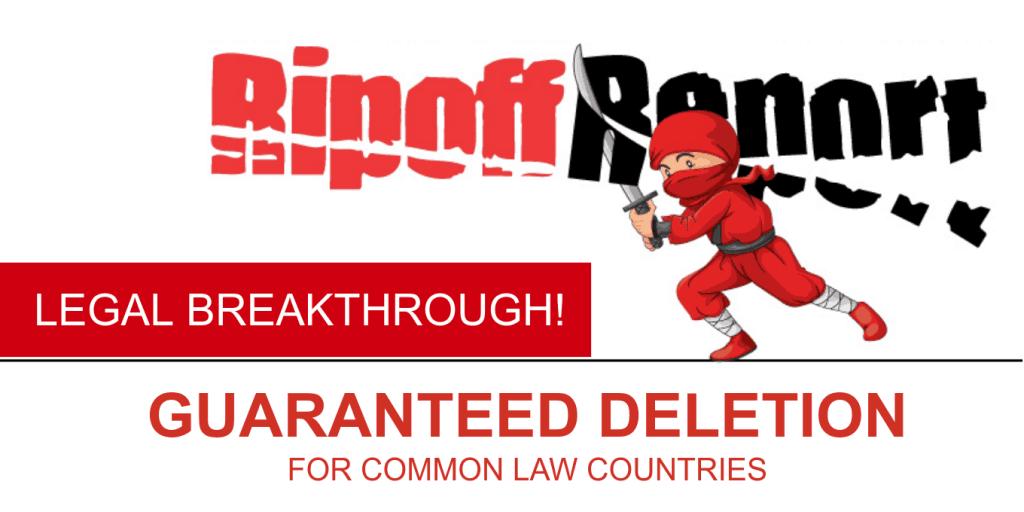 Removing RipOff Reports
