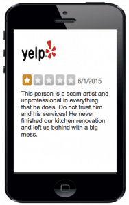 Yelp Respond to False Reviews