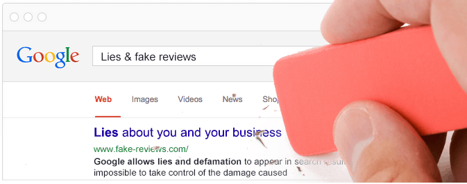Remove Content from Google