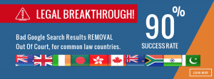 google content removal for common law countries