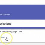 Google Alerts Set Up