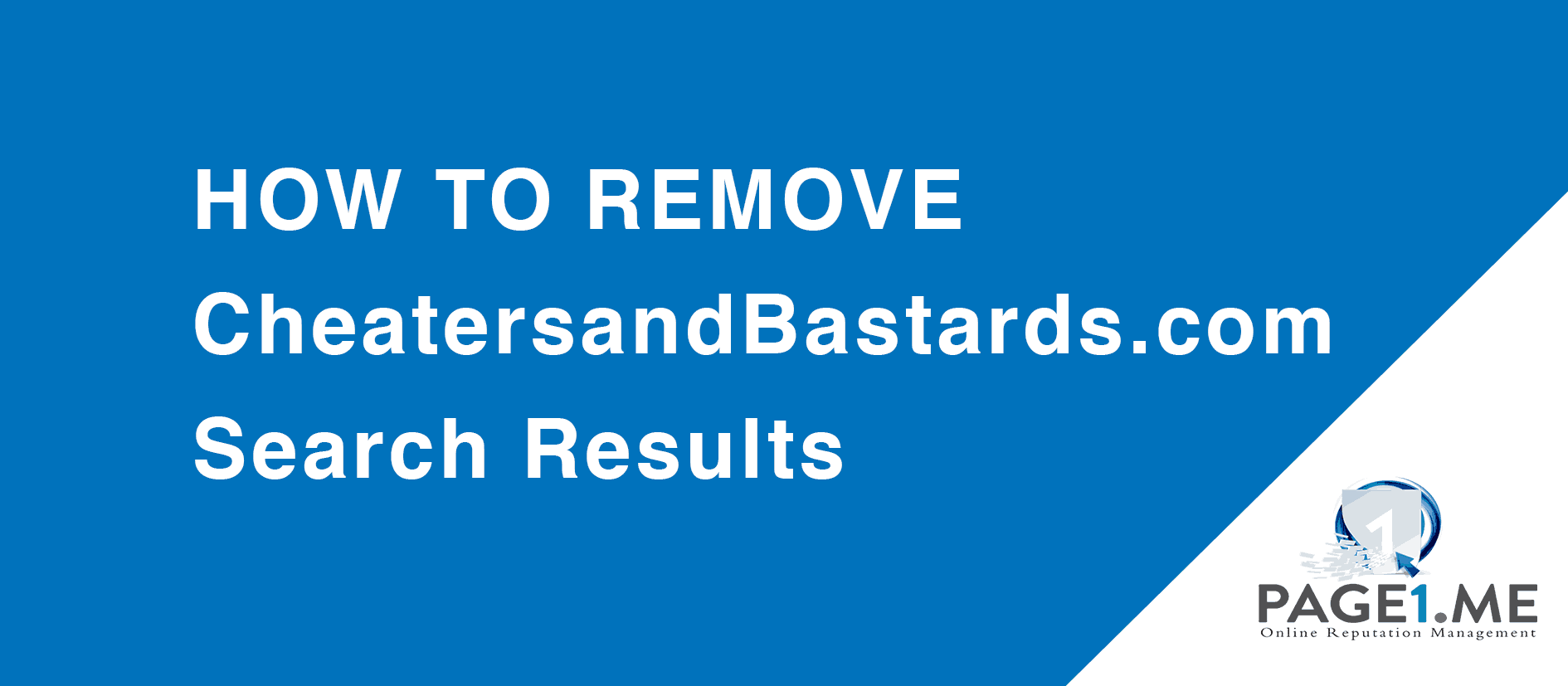 How to remove CheatersandBastards.com Search Results