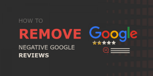 How to remove google reviews banner guide