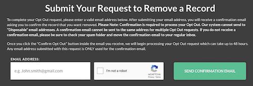 remove a record